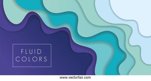 purple and green paint fluid colors background