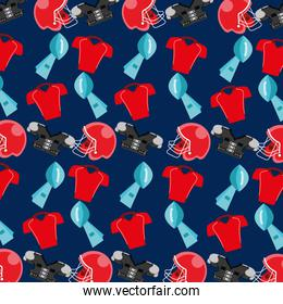 american football sport pattern background
