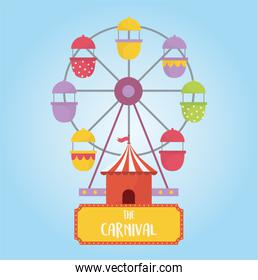 fun fair carnival ferris wheel booth recreation entertainment