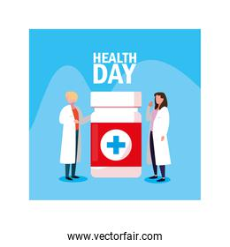 doctors in the world health day