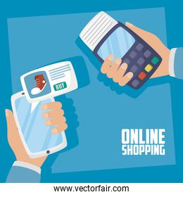 smartphone with online shopping technology