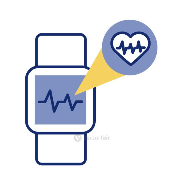 smartwatch with heart cardio health online line style