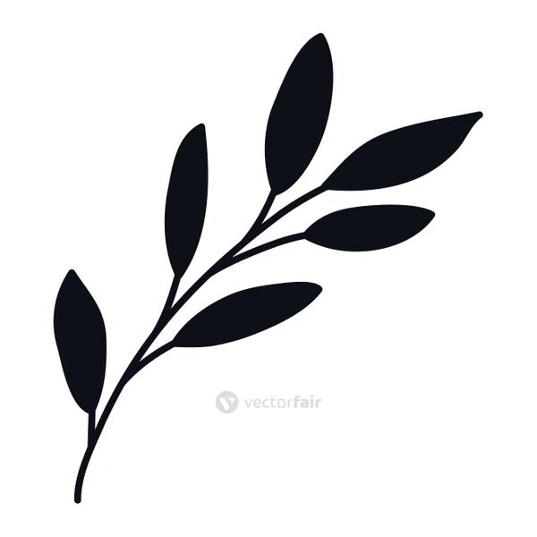 Isolated leaf icon vector design