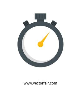 chronometer time equipment isolated icon