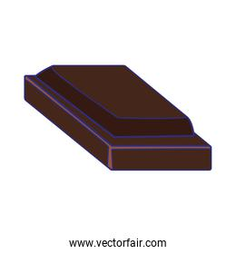 piece of chocolate icon