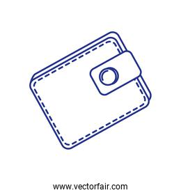 wallet money accessory isolated icon