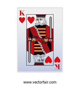 king of hearts card icon