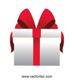 gift box with red box icon,