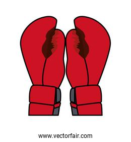 red boxing gloves icon