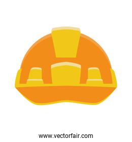 safety helmet icon, colorful design