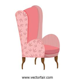 classic chair comfort furniture icon