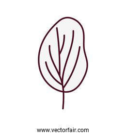 simple tree desing isolated icon
