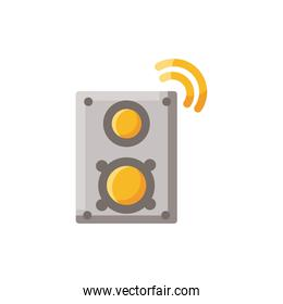 internet amplifier isolated icon desing