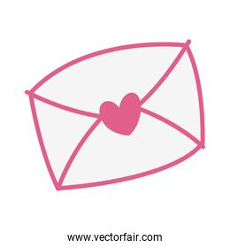 envelope mail with heart love