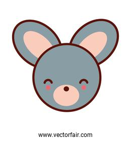 cute little mouse animal character