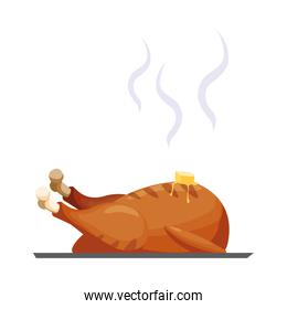 Isolated chicken icon vector design