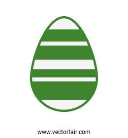 egg painted easter isolated icon