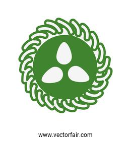 leafs plant nature organic seal