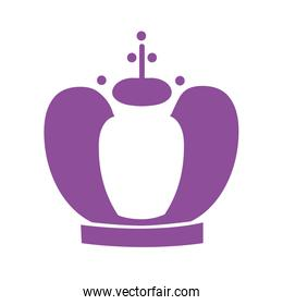 king crown royal isolated icon