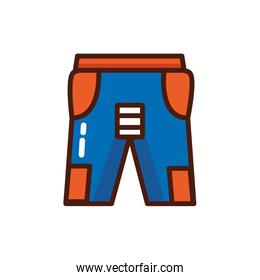 pants clothes fashion isolated icon