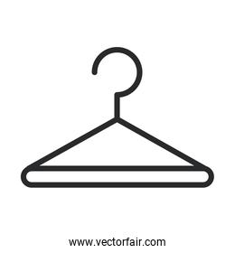 cleaning, clothes hanger laundry domestic hygiene line style icon