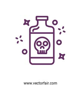 poison bottle magic sorcery icon