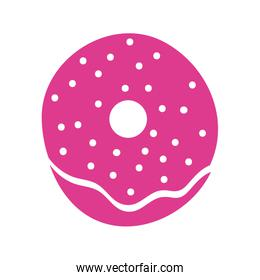 sweet donuts dessert isolated icon