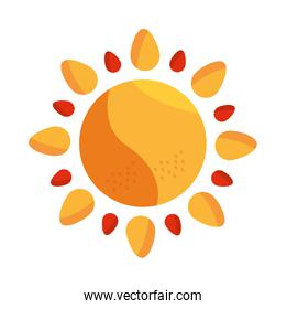 sun summer hot climate weather