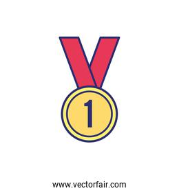medal price award isolated icon