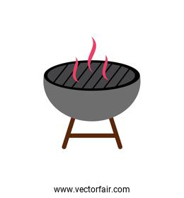 oven bbq accessory isolated icon