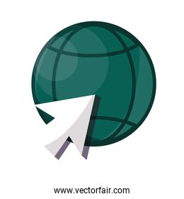 payments online, world clicking electronic business flat icon shadow