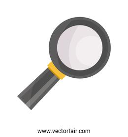 payments online, magnifying glass research flat icon shadow