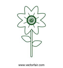 flower decoration may may mexican celebration line style icon