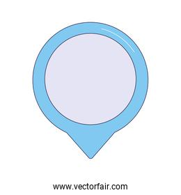 location pin icon, colorful design