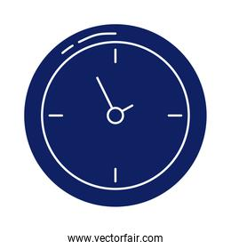 wall clock, silhouette style icon