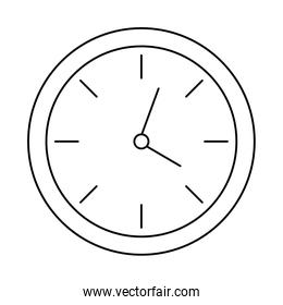 wall clock , line style icon