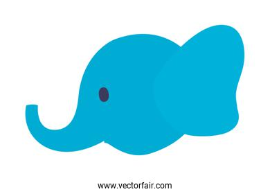 Isolated elephant cartoon vector design