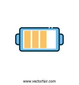 Isolated battery icon vector design