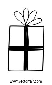 Isolated gift icon vector design