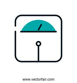 Isolated scale icon vector design