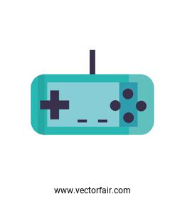 Isolated videogame control fill style icon vector design