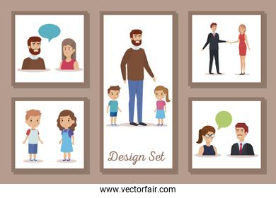bundle of designs teachers with students