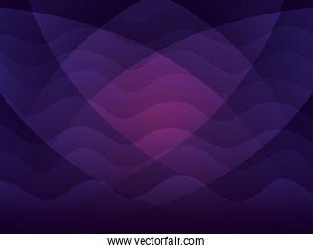 waves background purple color icons
