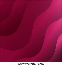 waves background pink color icon