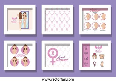 bundle of breast cancer awareness designs