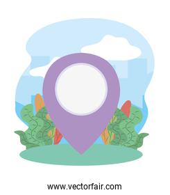 gps navigation pointer tourist vacation travel