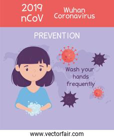 virus covid 19 prevention wash your hands frequently, wuhan coronavirus