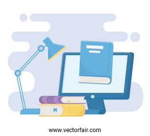 education online computer books and ebook learn lamp