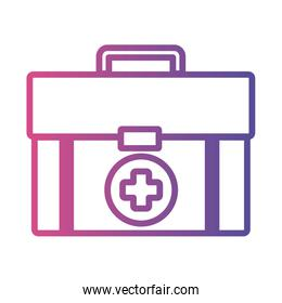 medicine drug kit linear gradient style icon