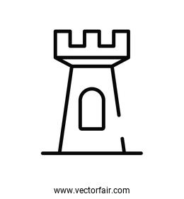 building construction urban isolated icon